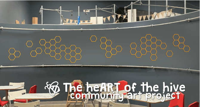 """HeART of The Hive"": Kidzu's Collaborative Community Art Project"