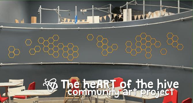 """HeART of The Hive"": Kidzu's Collaborative Community Art Project"